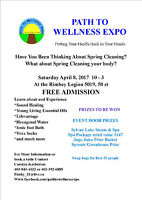 RIMBEY PATH TO WELLNESS EXPO VENDORS WANTED