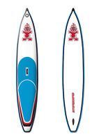 SUP inflatable Paddle board Starboard Astro Racer 12'6""