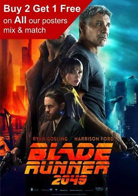 Blade Runner 2049 Movie Poster A5 A4 A3 A2 A1