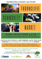 Flavours of Thorncliffe – Calling all vendors!