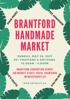 Brantford Handmade Market (VENDORS WANTED)