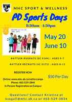 MHC PD Sports Day Camps