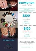 Manicure Birthday Party