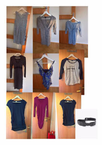Maternity dress, shirts, pants and jeans