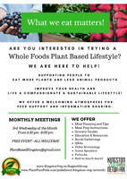 Plant-Based Lifestyle Support Group