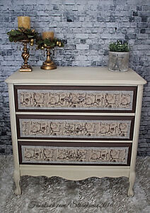 Refinished Paris Chis French Provincial 3 Drawer Dresser