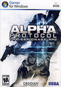 Alpha Protocol PC DVD-Brand new and sealed