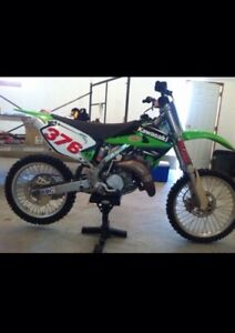 2005 Kawasaki KX 144 two stroke (reduced)
