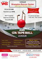GTA's 1st Indoor Tape ball Cricket League 2019