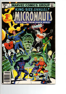 King Size Annual The Micronauts #1 - $12.00