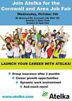 Atelka at the Cornwall and Area Job Fair
