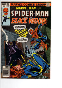 Marvel Team-Up Spider-Man And The Black Widow #82 - $10.00