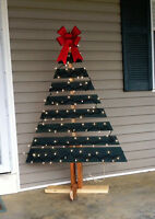 5  Ft. Handcrafted  Wood  Christmas  Tree