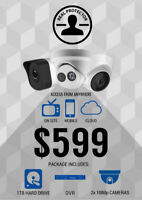 Affordable CCTV Camera & Installation for ONLY $600!