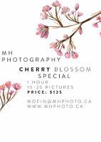$125 Cherry blossom special!!!!