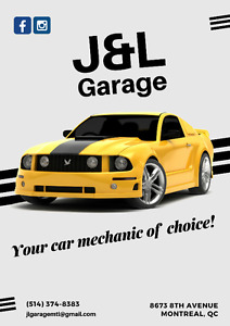 J&L Garage: Your car mechanic of choice!