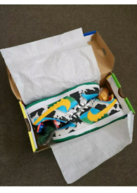 Nike sb dunk x ben and Jerry's