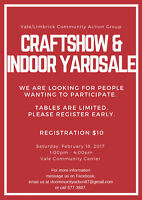 Craft Show and Indoor Yard Sale