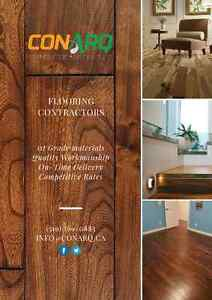 Add Beauty & Strength to your Floors. Call Us (519) 569-0883 Cambridge Kitchener Area image 1