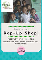 Vendors needed for Pop-Up Shop - Fundraiser for Volunteer Trip