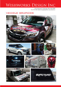 VEHICLE WRAPS & DECAL STICKER SYSTEMS