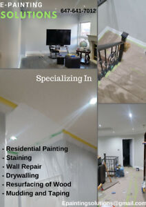 Professional Painting Services $1.60 per sqft including paint
