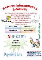 Réparation d'ordinateurs