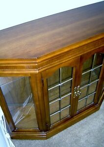 ANTIQUE HALL CABINET WITH MATCHING MIRROR London Ontario image 3