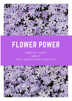 Flower Power : get a FREE landscaping estimate today