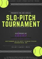 Fall Fundraiser Slo-Pitch Tournament