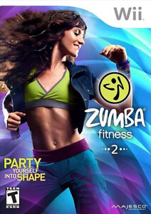 Zumba fitness 2 pour wii