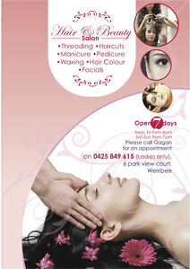 Elegant Indian Salon - Hair and Beauty - Threading - in Werribee Werribee Wyndham Area Preview