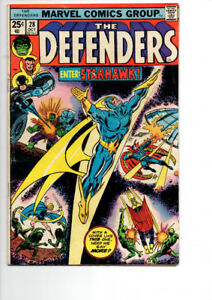 The Defenders #28 - $10.00