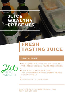 Fresh Juice Delivered To You