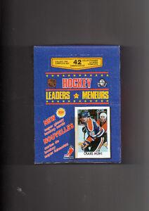 boite carte o-pee-chee hockey 86-87