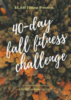 40-Day Fall Fitness Challenge
