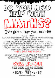 Math Tutor Kitchener / Waterloo Kitchener Area image 1
