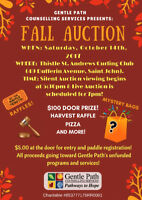 Gentle Path Counselling Services: Annual Fall Auction
