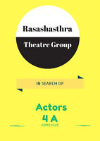 Looking for Hindi speaking actors....for a comedy play