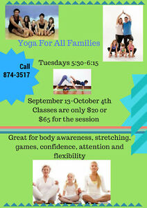 Yoga for children and families Peterborough Peterborough Area image 1