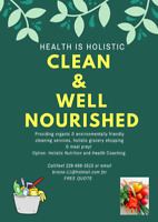 Holistic Home Care and Meal Prep