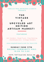Balzac Vintage & Up cycled Edition Artisan Market!