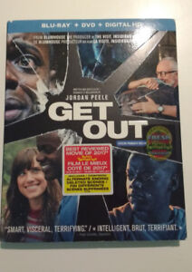 Get Out (Blu-Ray & DvD combo)