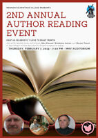 2nd Annual Author Reading