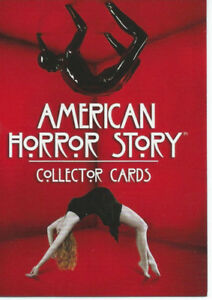 2014 American Horror Story Season 1 Base Card Set (72 cards) & F