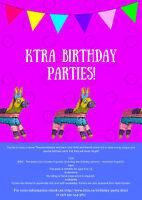 KTRA Horse Birthday Party