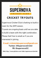 Cricket Tryouts