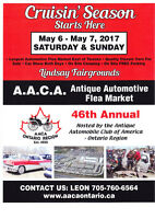 AACA Antique Automotive Flea Market 2017- Lindsay, ON
