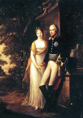 Das Königspaar Friedrich Wilhelm III. und Luise von Preußen DEUTSCHES REICH 71