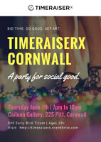 TimeraiserX Cornwall: A Party for Social Good